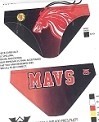Manvel Men's RED WP Game Suit