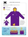 ST1 PG PURPLE/GOLD TASLAN Waterproof Parka #1